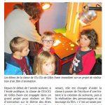 Article du Télégramme, Corseul