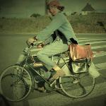 visuel norbert à vélo